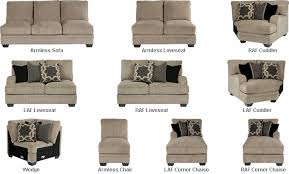 Sectional Sofa Pieces Katisha Sectional Parts With A Stylish Contemporary