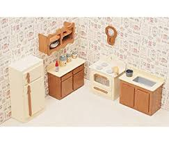 greenleaf dollhouse furniture kit for kitchen arts