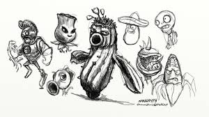more plants vs zombies gw2 doodles d45 u2013 maugryph