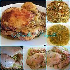 cuisine marocaine poulet farci recette de poulet farci aux vermicelles dé li cieux