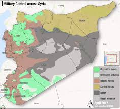 Syria Control Map by Fsa News On Twitter