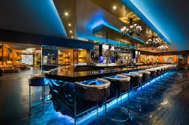 club heaven bar area at the hard rock hotel riviera maya on the