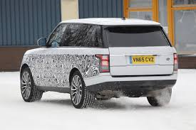 range rover coupe classic 2017 range rover facelift spy shots gtspirit