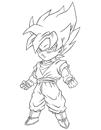 draw dragon ball pictures kids coloring