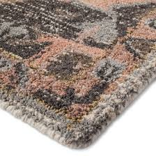 What Is A Rug Pad Pink And Gray Vintage Wool Rug Threshold Target
