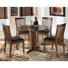 round drop leaf table and 4 chairs stuman round drop leaf table 4 uph side chairs d293 01 4 15