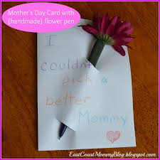 east coast mommy simple mother u0027s day card