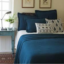 Green Matelasse Coverlet Shop Taylor Linens Hudson Coverlets Blue The Home Decorating