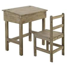 bureau ecolier bois bureau ecolier bois bureau decolier ancien en bois 2 places