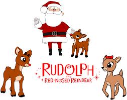 krafty nook rudolph red nosed reindeer svg files