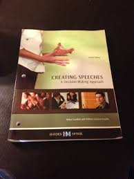creating speeches a decision making approach goulden
