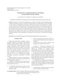 how to write a proposal for a research paper a proposal for corruption reduction in developing countries based a proposal for corruption reduction in developing countries based on e government pdf download available