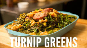 turned up turnip greens thanksgiving special of a southern