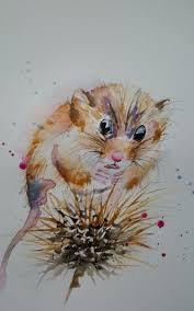 elle smith art brand new original watercolour painting 16x12