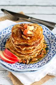 apple spiced pancakes the pioneer woman