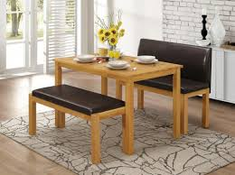 hamra dining set with 2 benches natural oak by capital stores