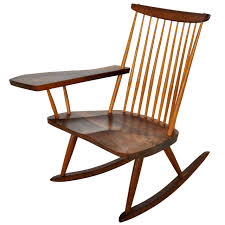 Knoll Rocking Chair George Nakashima Rocking Chair For Sale At 1stdibs