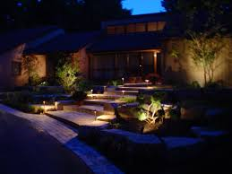 outdoors amazing garden designs with led lights gallery including