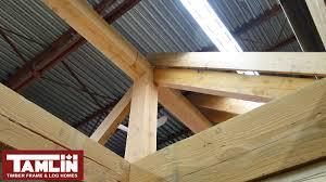 post u0026 beam log cabin special tamlin homes timber frame home