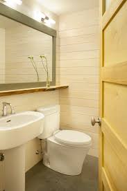 Mirror In A Bathroom A Toilet Can Help A Small Bathroom Appear Bigger Yep Learn How