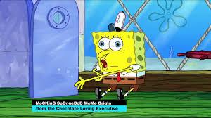 Chocolate Spongebob Meme - mocking spongebob meme explained video dailymotion