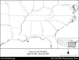 map us states during civil war us map during civil war blank blank map civil war states thempfa org
