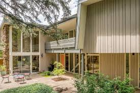 updated midcentury modern home with soaring great room asks 1m