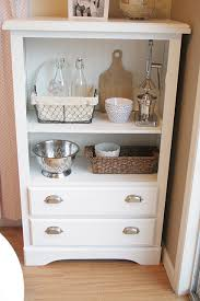 old dresser redo definitely doing this for the kitchen microwave