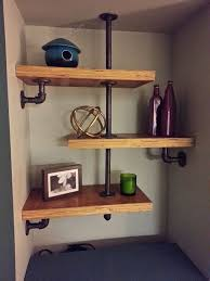 Black Pipe Shelving by 537 Best Diy Storage U0026 Shelves Images On Pinterest Pipe