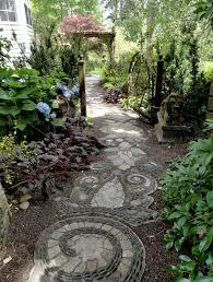 cheap ideas for garden paths great simple cheap home gardening