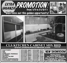 Kitchen Cabinet Cls Selected Promotion To You Cls Kitchen Cabinet Promotion 2011