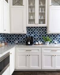 navy blue and white kitchen cupboards before and after a dramatic kitchen and family room