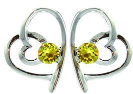 s birthstone earrings by coppercraft swarovski birthstone earrings gift