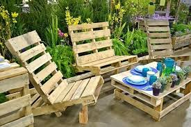 how to make a garden table with pallets how to make patio