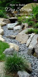 a beautiful way to catch runoff how to build a dry stream