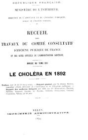 bureau num ique du directeur recueil des travaux du comité consultatif d hygiène publique de