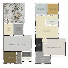 have you seen this trendy color palette with a twist laurel home