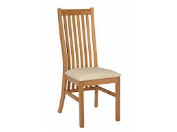 lichfield cream leather solid oak chairs from top furniture