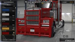 kenworth truck bumpers standalone painted bumper quarterback for kenworth w900 mod for
