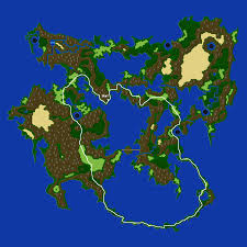 Ff6 World Of Ruin Map by Final Fantasy V Advance Misc Quests