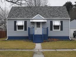 Door Awnings Aluminum Awning Styles Neville U0027s Inc Green Bay Wisconsin