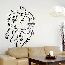 Home Interior Lion Picture Lion Wall Sticker Home Interior Design Ideas Fancy Lovely Home