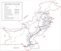 China Train Map by File Pakistan Railways Map Png Wikimedia Commons