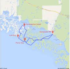 Diego Garcia Map 3 Day Everglades Kayak Tour