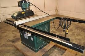 table saw power feeder grizzly table saw w power feeder model g7210 14 inch in auburn