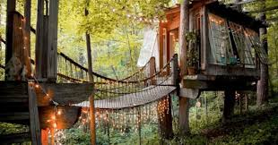 Tree House Home by 12 Incredible Tree Houses You Can Spend The Night In Huffpost
