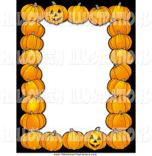 royalty free border stock halloween designs