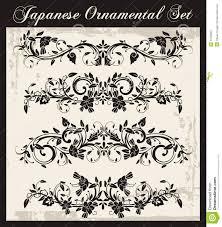 japanese traditional ornaments set stock image image 31566601