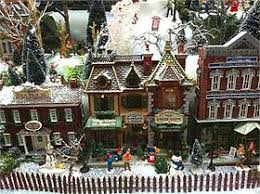 christmas villages and how to make model pathways and miniature fences