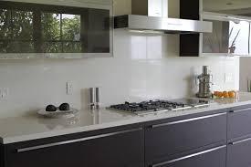 White Quartz Contemporary Kitchen Santa Barbara By Pacific - Quartz backsplash